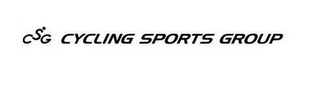 mark for CSG CYCLING SPORTS GROUP, trademark #85749411