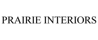 mark for PRAIRIE INTERIORS, trademark #85749496