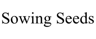 mark for SOWING SEEDS, trademark #85749623
