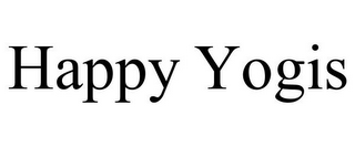 mark for HAPPY YOGIS, trademark #85749678