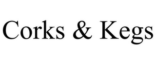 mark for CORKS & KEGS, trademark #85749746