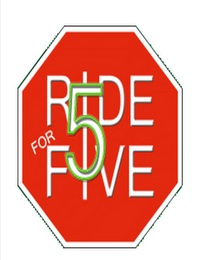 mark for RIDE FOR FIVE 5, trademark #85749799