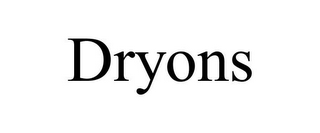 mark for DRYONS, trademark #85749828