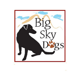mark for BIG SKY DOGS, trademark #85750052