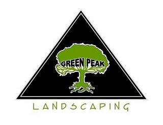 mark for GREEN PEAK LANDSCAPING, trademark #85750160