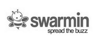 mark for SWARMIN SPREAD THE BUZZ, trademark #85750278