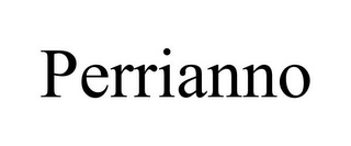 mark for PERRIANNO, trademark #85750352
