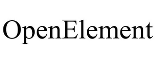 mark for OPENELEMENT, trademark #85750365