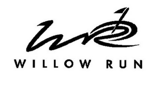 mark for WR WILLOW RUN, trademark #85750384