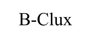 mark for B-CLUX, trademark #85750601