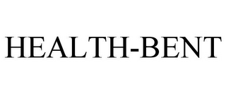 mark for HEALTH-BENT, trademark #85750624