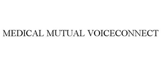 mark for MEDICAL MUTUAL VOICECONNECT, trademark #85750671