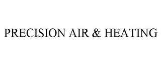 mark for PRECISION AIR & HEATING, trademark #85750705
