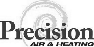 mark for PRECISION AIR & HEATING, trademark #85750741