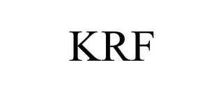 mark for KRF, trademark #85750762