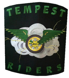 mark for TEMPEST RIDERS RC, trademark #85750921