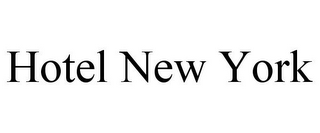 mark for HOTEL NEW YORK, trademark #85750928