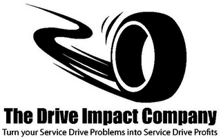mark for THE DRIVE IMPACT COMPANY TURN YOUR SERVICE DRIVE PROBLEMS INTO SERVICE DRIVE PROFITS, trademark #85750949