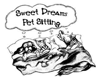 mark for SWEET DREAMS PET SITTING, trademark #85750970