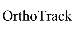 mark for ORTHOTRACK, trademark #85751063