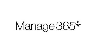 mark for MANAGE 365+, trademark #85751234