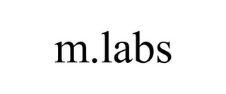 mark for M.LABS, trademark #85751294