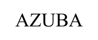 mark for AZUBA, trademark #85751361