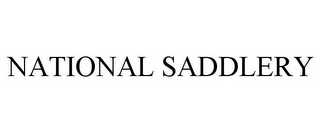 mark for NATIONAL SADDLERY, trademark #85751593