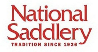 mark for NATIONAL SADDLERY TRADITION SINCE 1926, trademark #85751614