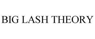 mark for BIG LASH THEORY, trademark #85751619