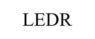 mark for LEDR, trademark #85751746
