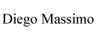 mark for DIEGO MASSIMO, trademark #85751877