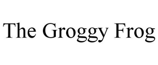 mark for THE GROGGY FROG, trademark #85752128