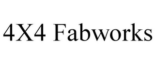 mark for 4X4 FABWORKS, trademark #85752177