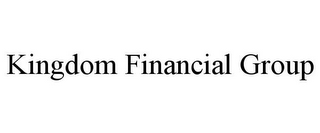 mark for KINGDOM FINANCIAL GROUP, trademark #85752189