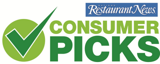 mark for NATION'S RESTAURANT NEWS CONSUMER PICKS, trademark #85752396