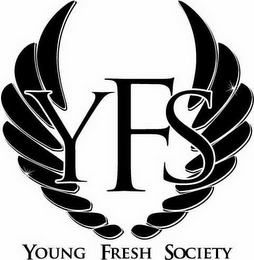 mark for YFS YOUNG FRESH SOCIETY, trademark #85752435