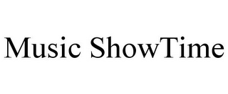mark for MUSIC SHOWTIME, trademark #85752733