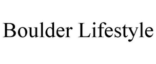 mark for BOULDER LIFESTYLE, trademark #85752821