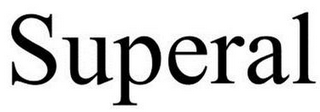 mark for SUPERAL, trademark #85752825