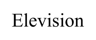 mark for ELEVISION, trademark #85752838