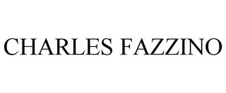 mark for CHARLES FAZZINO, trademark #85752967
