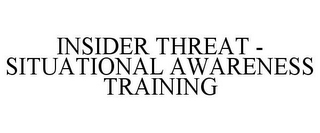 mark for INSIDER THREAT - SITUATIONAL AWARENESS TRAINING, trademark #85752978