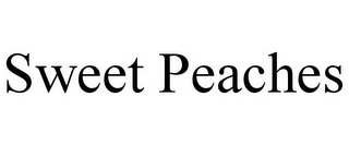 mark for SWEET PEACHES, trademark #85753134