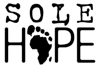 mark for SOLE HOPE, trademark #85753233