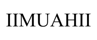 mark for IIMUAHII, trademark #85753386