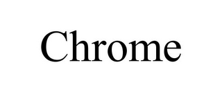 mark for CHROME, trademark #85753412