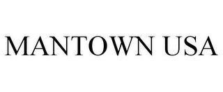 mark for MANTOWN USA, trademark #85753441