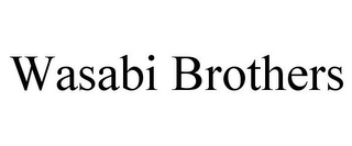 mark for WASABI BROTHERS, trademark #85753447