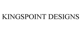 mark for KINGSPOINT DESIGNS, trademark #85753571